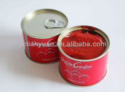 Highly recomment!Factory cheap wholesale big drum or small tin package concentrated CANNED TOMATO PASTE