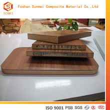 decorative bamboo honeycomb panel for floor and wall