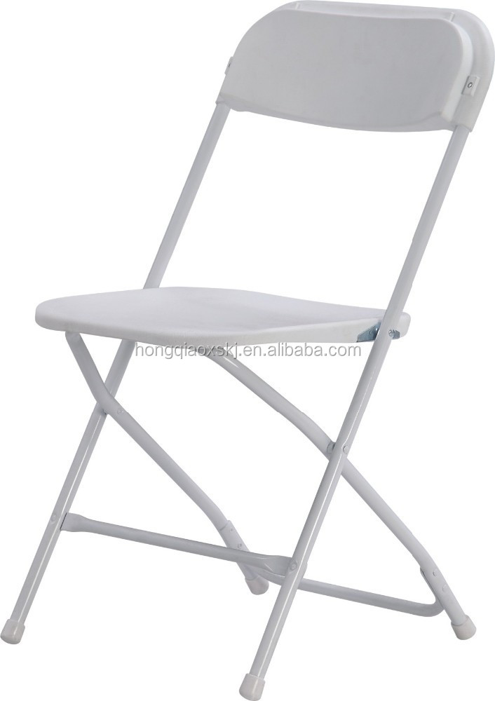 White Plastic Folding Chair Outdoor Plastic Chair For