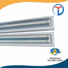 Zhejiang best sale super quality t8 waterproof fluorescent light fixtures ip65