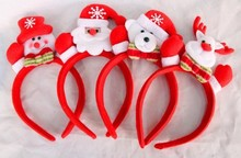 Alibaba hot sale head hoop clasp Christmas decorations christmas hair band with light