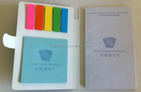 Take away gift memo pad with sticky notes