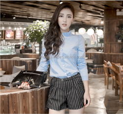 Office lady shirts fashion design shirts for women