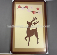 cheap wholesale wooden picture frames 16x20 wood picture frames