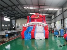 offer different shape and size commercial inflatable slide