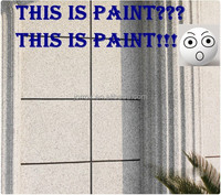 Water based liquid granite effect acrylic stone paint for building facade