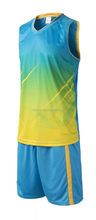 Excellent quality top sell basketball uniform yellow black red
