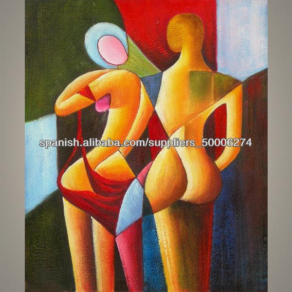 venta caliente desnudo pinturas abstractas para colgar de la pared ...