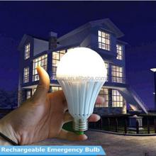 China e27 b22 7w portable led emergency exit lights strobe light globe bulb