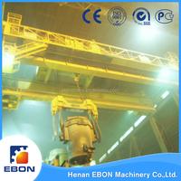 Double Girder Overhead Crane QDY Model Foundry Equipment 20 ton Overhead Crane Price