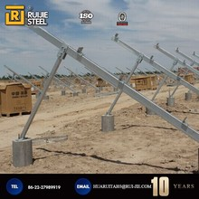 aluminum solar mounting structure solar carport support mount system