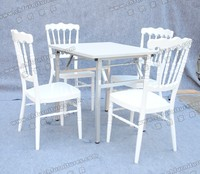 YC-A39 Best seller hideaway dining table and chair set