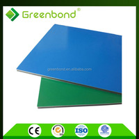 Greenbond blue color acm panel for outside building material with cheap price