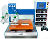 Desktop two component glue dispensing robot . automatic dispensing machine