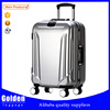 china wholesale aluminum ABS PC luggage abs printed hard shell luggage bag travel time luggage