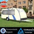 Fv-78 nuevo modelo quinta rueda del remolque fabricantes de lujo remolques de viaje remolque ventanas