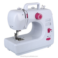 FHSM-508 high speed walking foot zig zag home sewing machine table stand