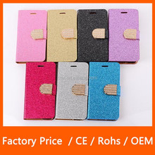 NEW Fashion Diamond Magnetic Flip Bling Wallet Stand Leather Case Cover Skin For Apple iPhone 6