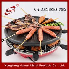 hot selling 1300W temperature controlled indoor indoor table topelectric grill