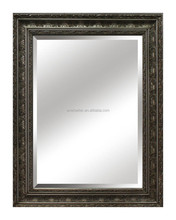 Eco-friendly antique wooden framed large mirrors wholesale