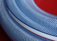 pressure resistant flexible pvc fiber hose iso/gs