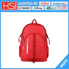 audited factory wholesale price easeful pvc school bag