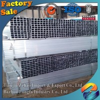 High quality low pressure fluid galvanized steel pipe manufacturers china square/Rectangular/round/oval pipe