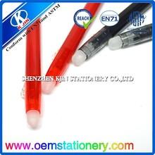 New plastic push action ball-point pen/2015 high quality plastic cheap promotional pen/Promotion pen