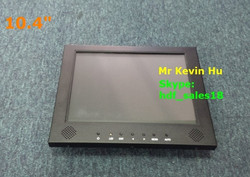 "capacitive touch monitor, low cost 10.40"" open frame tft lcd monitor for industrial control hmi/plc/hid/atm/medical/kiosk"