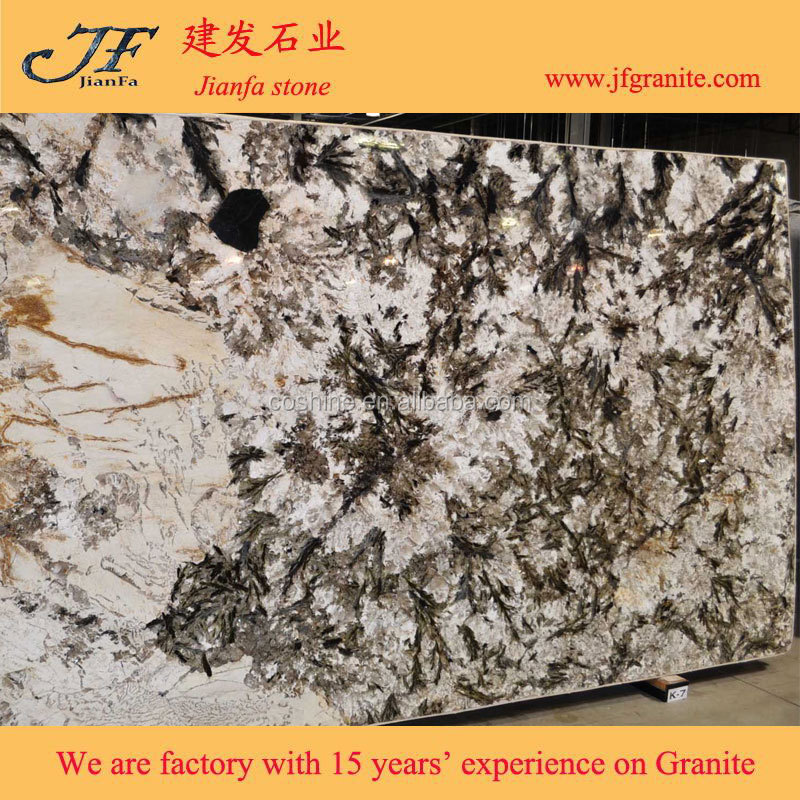 Wonderful white granite stone alpinus granite slab buy for Alpinus granite