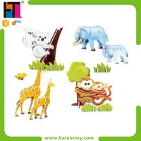74 PCS Intelligent Toy Paper Magic Puzzle
