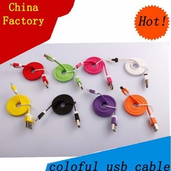 China factory micro usb to rca cable for Smartphones charging usb cord