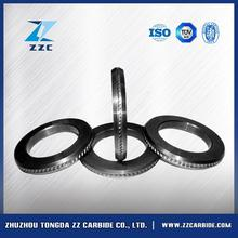 custimized tungsten carbide rolls for smooth and ribbed low carbon wire for concrete with great price