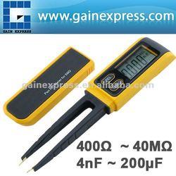 Pen type Tweezers Digital Resistance Capacitance Diode Test Multimeter Meter R / C SMD