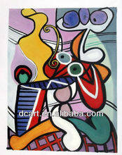 Handmade Abstract Famous People Oil Painting Picasso