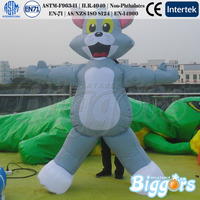 Cheap Advertising Inflatable Toy Cartoon Character Tom Model for Kids