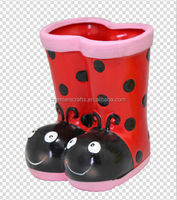 ladybug shoes ceramic pots for plants
