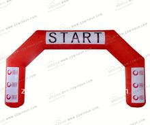 Inflatable entrance arch for Advertising