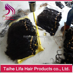 Big stock best selling fast delivery unprocessed virgin cheap bulk hair