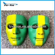 New Design Hip hop Mask green yellow color Dance ball Mask