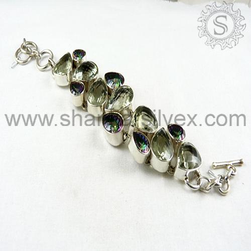 Jóias de prata esterlina/jóia de prata handmade 2014 moda pulseira de prata estilo/festa usando jóias de prata
