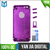 High Quality Middle Frame Battery Cover Housing For iPhone 6 Full Metal Bezel Back Battery Housing cover case For iPhone 6