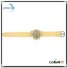 2015 Wholesale price new fashion Woven quartz watch ebay amazon hot selling silicone geneva watch