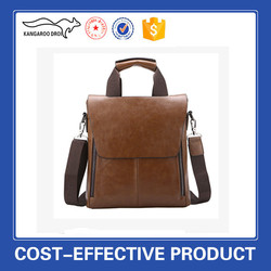Men leather office bags China wholesale factory sale shoulder bag tote bag