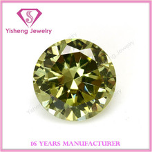 2015 New Colorful Shining Round Cut Loose Nano Crystal Zirconia Stones