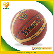 Sublimated Glossy PU Basketball