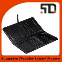 New Product Wholesale Leather Passport Case Customised Passport Cover