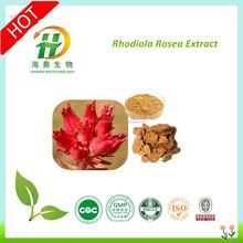 Hot selling Natural Rhodiola Rosea Extract 3% Min.Salidroside, 1% Min.Rosavin, Herbal extract