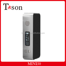 New Arrival TOSON OLED screen Mini 50W Mod Low resistance protection