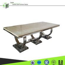 A8026 latest designs long dining room table for 12 seat